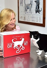 Royal Canin Partners Team Up With Celebrity Cat Lover Angela Kinsey For National 'Take Your Cat to the Vet Day'