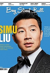 Bay Street Bull debuts fall Entertainment issue featuring Marvel's first Asian superhero, Simu Liu