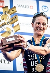 Katie Zaferes Crowned ITU Triathlon World Champion in Lausanne