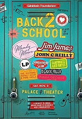 The D'Addario Foundation Announces Back 2 School Benefit Featuring Jim James, Mandy Moore, John C Reilly, and more