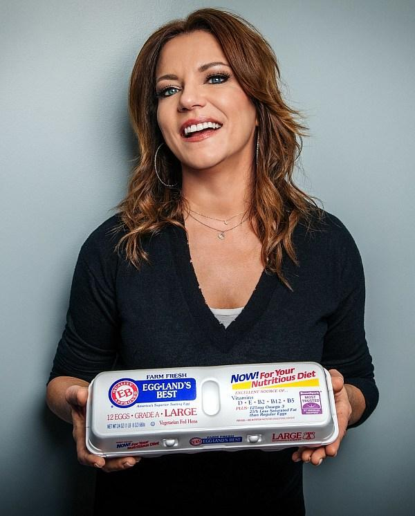 Eggland's Best and Country Music Star Martina McBride Team Up to Bring the Joy of Music and Food to Fans This Holiday Season