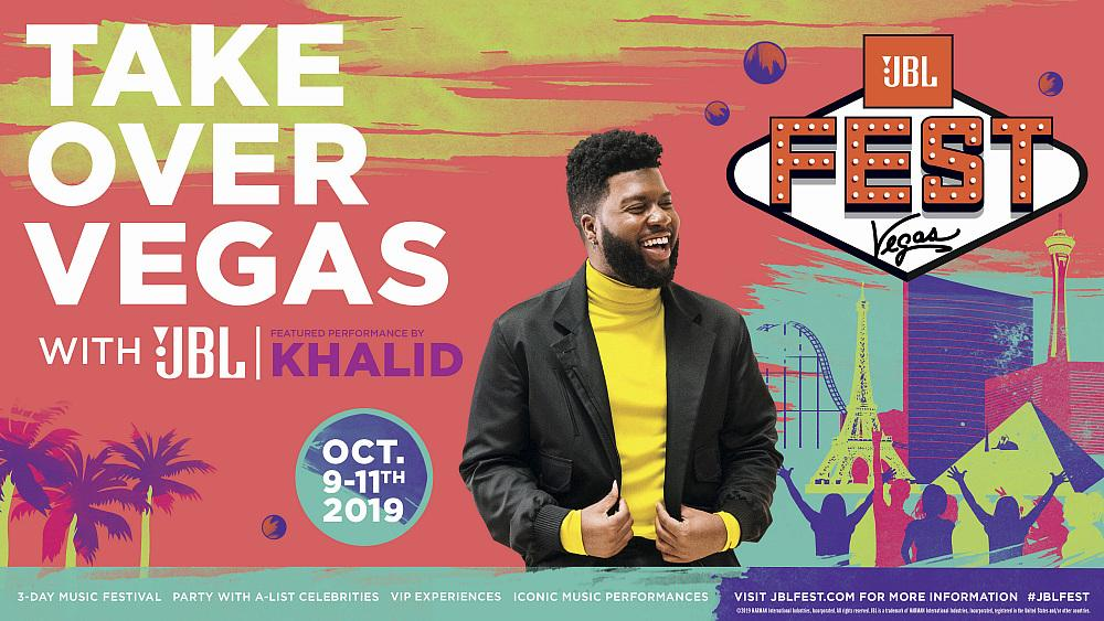JBL Announces a Star-Studded Lineup for JBL Fest, Including Khalid, Bebe Rexha, RUN DMC and Mabel