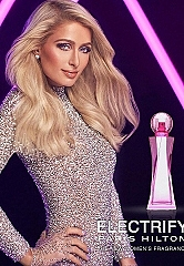 Paris Hilton Launches Her 25th Fragrance: ELECTRIFY