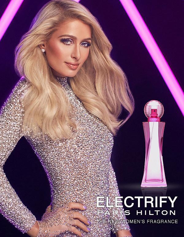 Paris Hilton Launches Her 25th Fragrance: ELECTRIFY