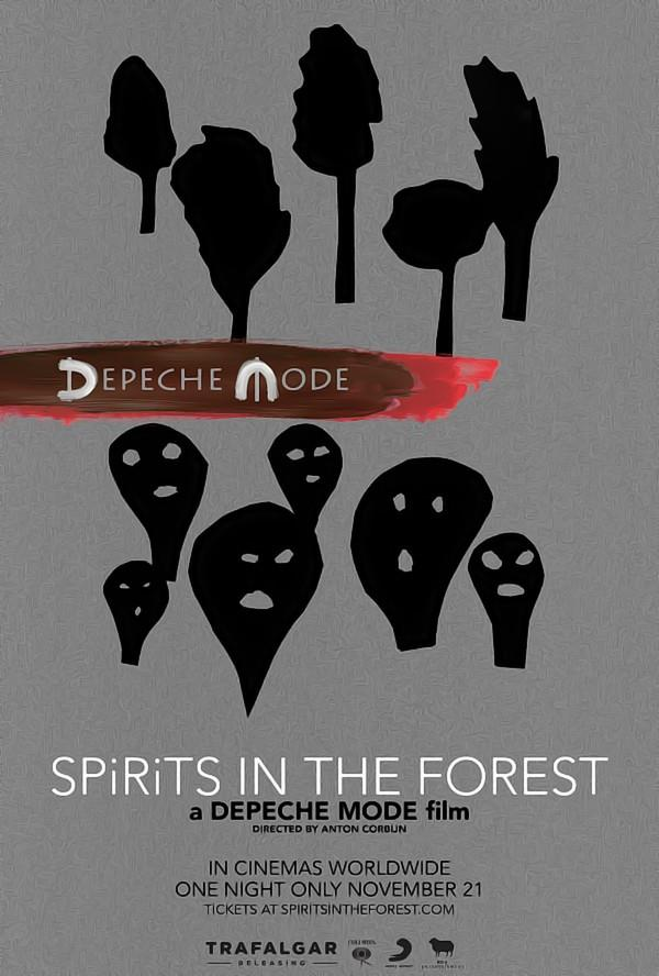 Official Trailer Unveiled For 'Depeche Mode: SPIRITS In The Forest' Coming To Cinemas Worldwide On November 21