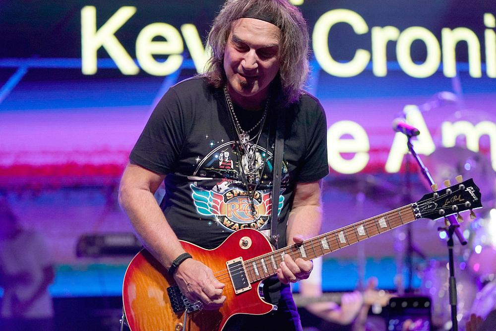NASHVILLE, TENNESSEE - SEPTEMBER 29: Dave Amato of REO Speedwagon performs onstage during Nashville's 80's dance party to end ALZ benefitting the Alzheimer's Association on September 29, 2019 in Nashville, Tennessee. (Photo by Ed Rode/Getty Images for Alzheimer's Association)