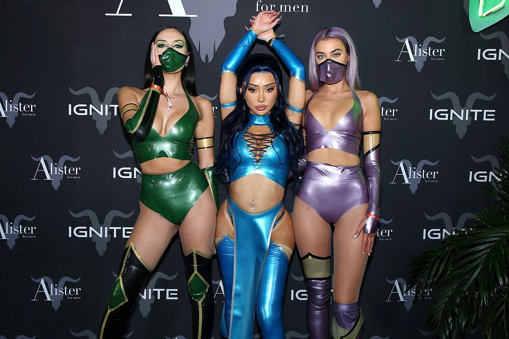 Ignite Halloween Party 2020 The Stars Were Out For Dan Bilzerian's Epic Halloween Party