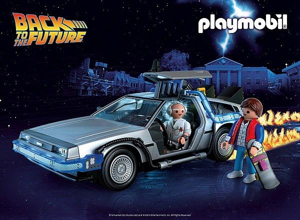 "Playmobil has a new toy line celebrating the 35th Anniversary of ""Back To The Future"""