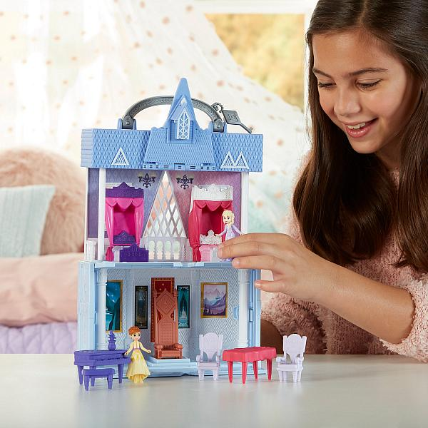 Pop Adventures Arendelle Castle, Licensee: Hasbro, SRP: $29.99 Available: Oct. 4 at mass retailers