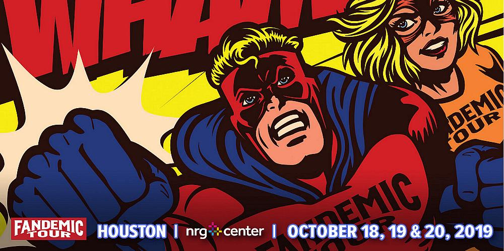 Fandemic Comic Con Tour Is Back in Houston