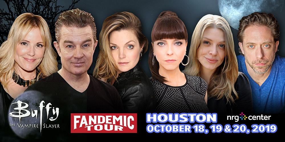 Fandemic Comic Con Tour Is Back in Houston This Weekend Welcoming a Buffy Reunion, Stars From The Walking Dead and Many Other Popular Television Series on October 18-20 at NRG Center