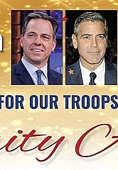 'Homes for Our Troops' 3rd Annual Veterans Day Celebrity Ebay Auction with Jake Tapper, George Clooney and Wynonna Judd to Raise Funds for Severely Injured Post-9/11 Veterans