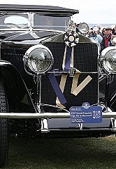 Silent Film Star's 1927 Isotta Fraschini Tipo 8A S Fleetwood Named Best Of Show At The Inaugural Audrain's Concours d'Elegance