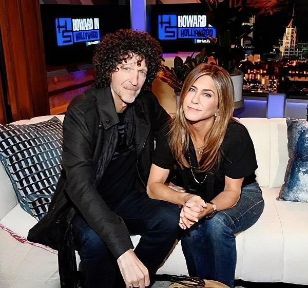 Howard Stern Takes Hollywood - Howard Stern with Jennifer Aniston
