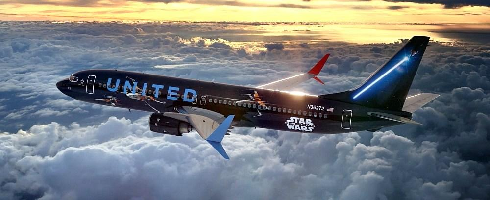 United Airlines new Star Wars: The Rise of Skywalker 737-800 aircraft will take flight in November