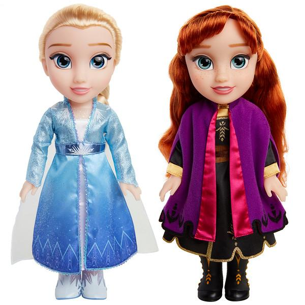 Disney Frozen 2 Singing Sisters 2-Pack, Licensee: JAKKS Pacific,  Available: Oct. 4 at Walmart and Walmart.com
