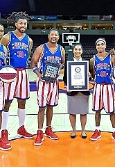 Harlem Globetrotters Celebrate GUINNESS WORLD RECORDS Day With Six New Records Titles