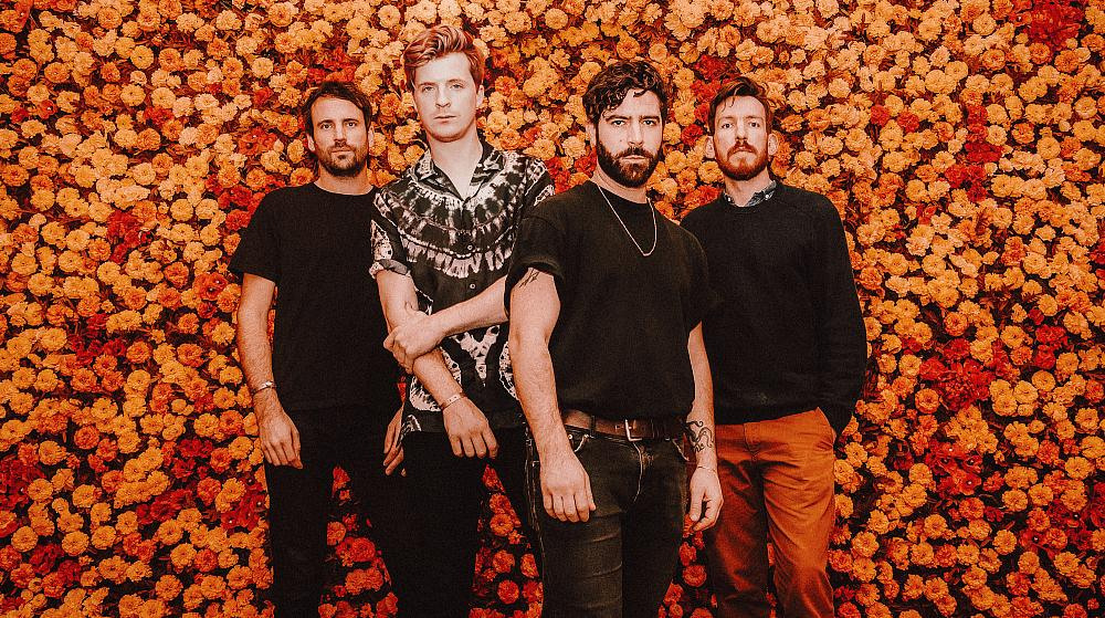 """Foals share a new animated video for their song """"Like Lightning,"""" off their recent album Everything Not Saved Will Be Lost – Part 2"""