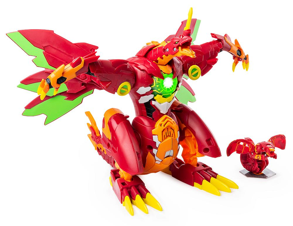 Bakugan Dragonoid Maximus Transforming Figure by Spin Master