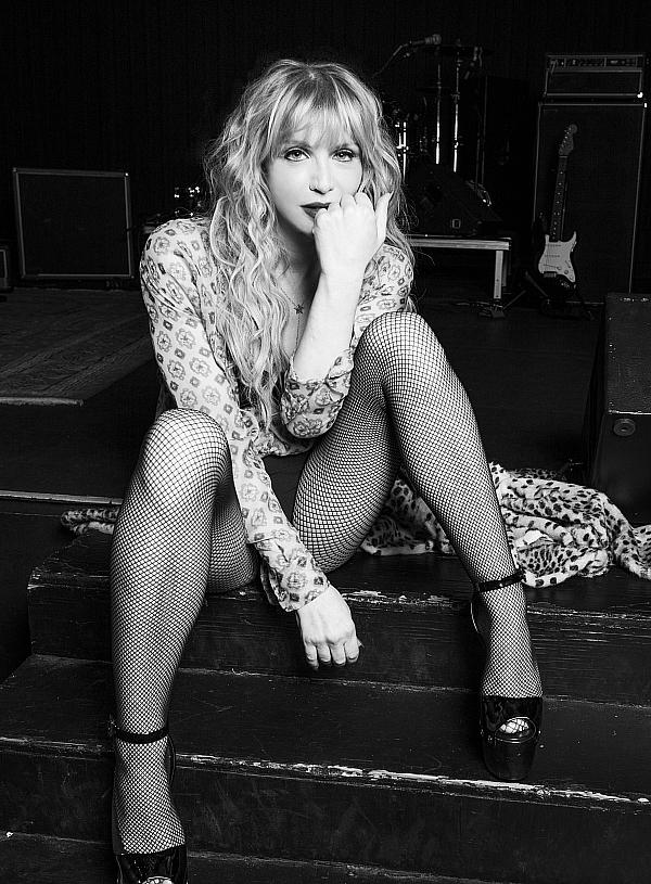 Courtney Love (Photo Credit: Hedi Slimane)