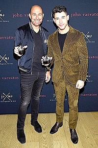 John Varvatos and Nick Jonas Launch Latest Installment of their Fragrance Trilogy: JV x NJ Silver Edition