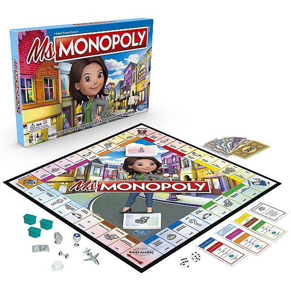 MS. MONOPOLY Board Game by Hasbro, Inc.