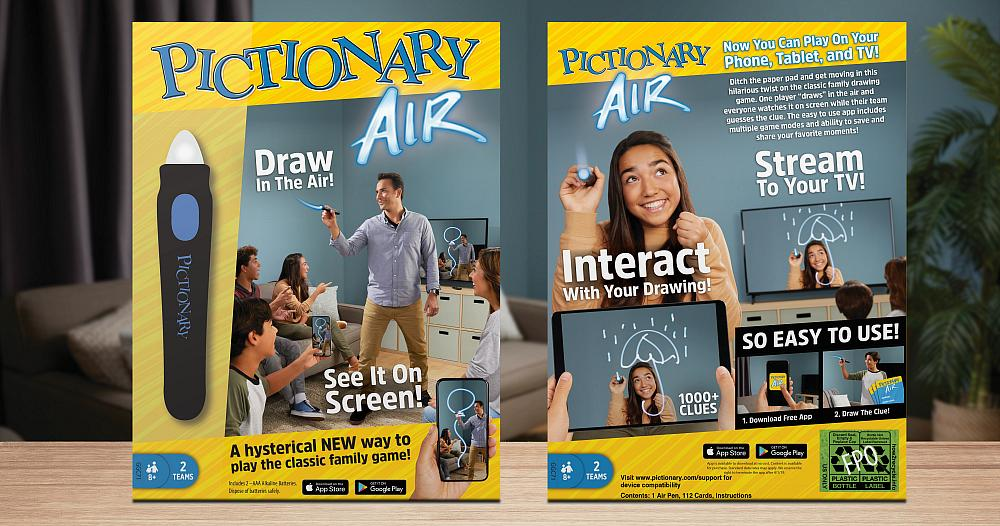 Pictionary Air by Mattel, Inc.