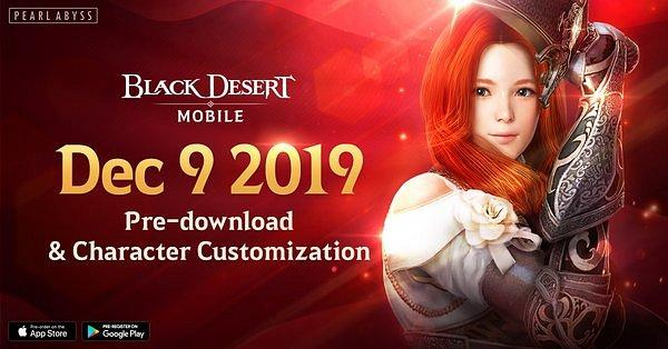 Black Desert Mobile Available for Pre-Download Starting December 9