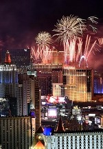 Las Vegas Raises a Glass to 2020 with Glamorous New Year's Eve Events