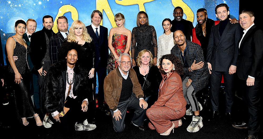 The cast of 'Cats' attends The World Premiere of Cats, presented by Universal Pictures on December 16, 2019 in New York City. (Photo by Kevin Mazur/Getty Images for Universal Pictures)