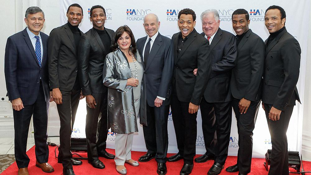 "A Special Live Musical Performance From ""Ain't Too Proud - The Life and Times of The Temptations"" Raises $310,000 for HANYC Foundation"