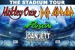 The Stadium Tour Summer 2020: Def Leppard, Mötley Crüe, with Poison and Joan Jett & the Blackhearts