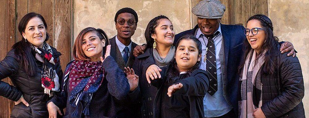 """Photomontage Film """"Conexiones: A New Orleans Mexican Connection"""" Premieres Featuring Los Cenzontles at Preservation Hall"""