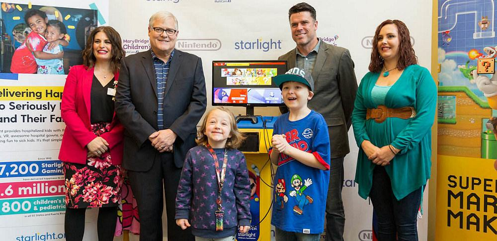 Starlight Nintendo Switch Gaming Station Unveiled for Hospitalized Kids