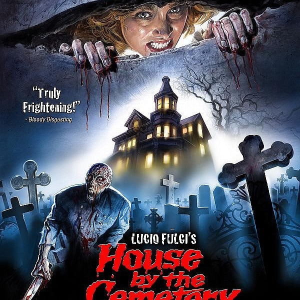 """The House by the Cemetery"" 3-Disc Limited Edition / 4K Restoration Coming January 21"