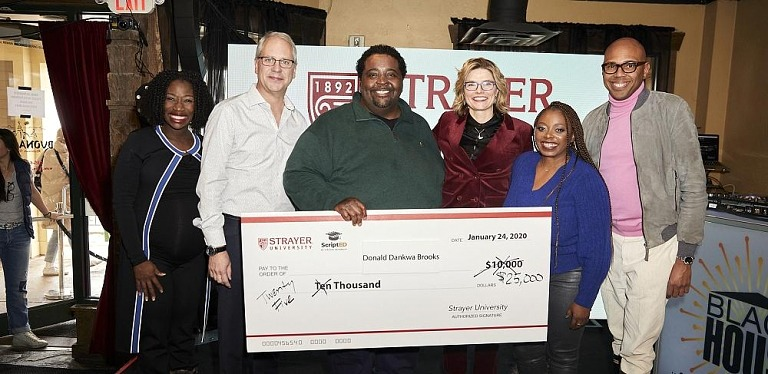 Donald Dankwa Brooks Winner of Scriptwriter Competition to Bring Real Perspectives on Criminal Justice to the Classroom