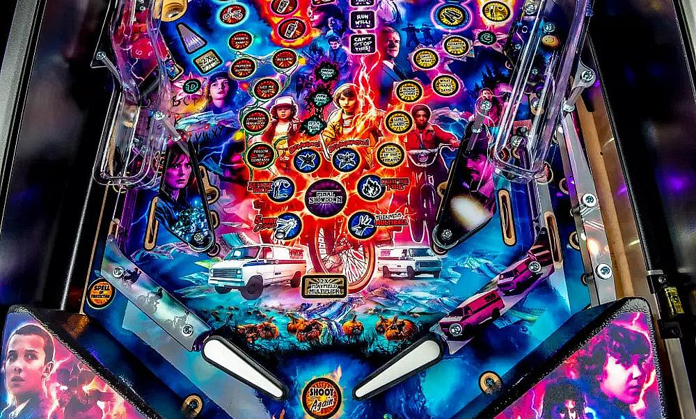 """Stern Pinball to Showcase New """"Stranger Things"""" Pinball Machine and the """"Star Wars Pin"""" at the Consumer Electronics Show"""