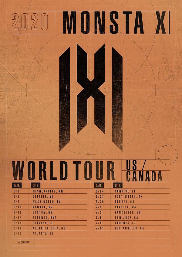 Monsta X North American Tour