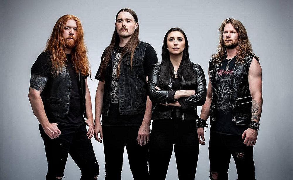 UNLEASH THE ARCHERS  [photo credit: Shimon Karmel]