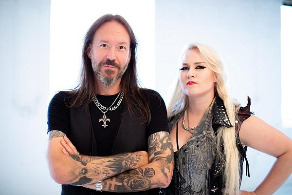 "HAMMERFALL Releases Official Video for New Single, ""Second To One"", Featuring Noora Louhimo of BATTLE BEAST"