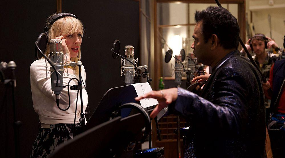 "A.R. Rahman Begins Recording ""Hands Around the World"" Song to Fundraise Against Climate Change, in Los Angeles"