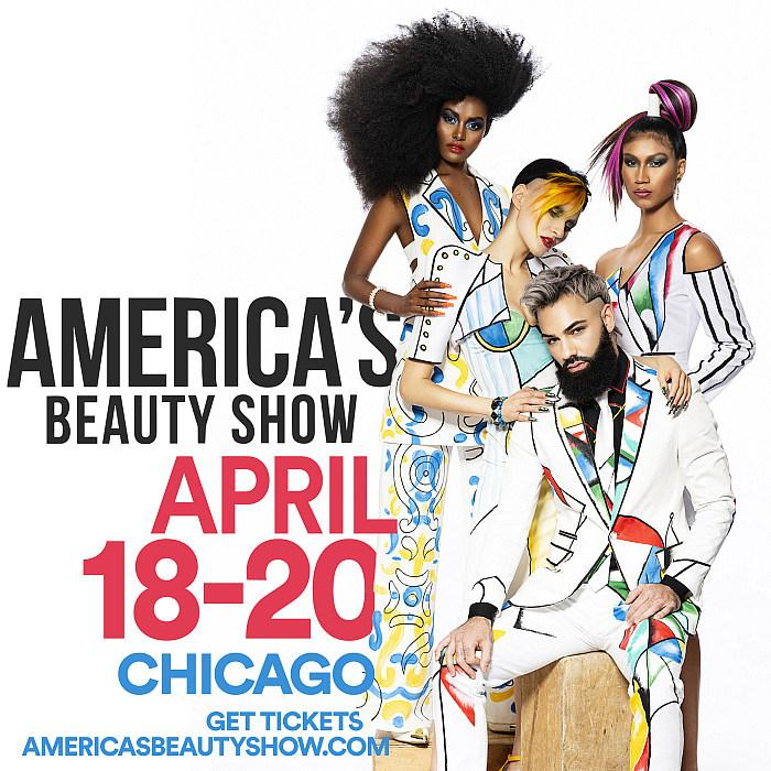 A Big Bold WOW Beauty Experience Filled with Glitz, Glamour and Pizzazz: America's Beauty Show 2020