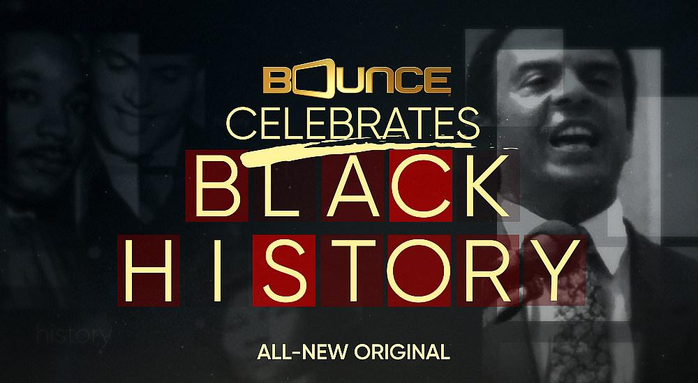Bounce to World Premiere New Original Black History Month Special Starring Queen Latifah, Common and Harry Belafonte Monday, Feb. 10