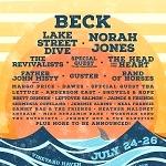 Beck, Norah Jones and Lake Street Dive to Headline Beach Road Weekend Music Festival