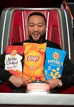 "Lay's Partners With NBC'S ""The Voice"" And Coach John Legend To Debut Team Of Flavors Sure To Make Chairs Turn"