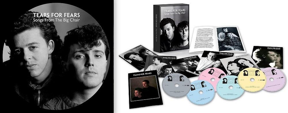 Tears For Fears 'Songs From The Big Chair' 35th Anniversary Of The Iconic 10 Million Selling Album Limited Edition Picture Disc Album Released March 13th