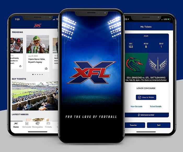 Official Mobile App For New XFL Football League Now Available