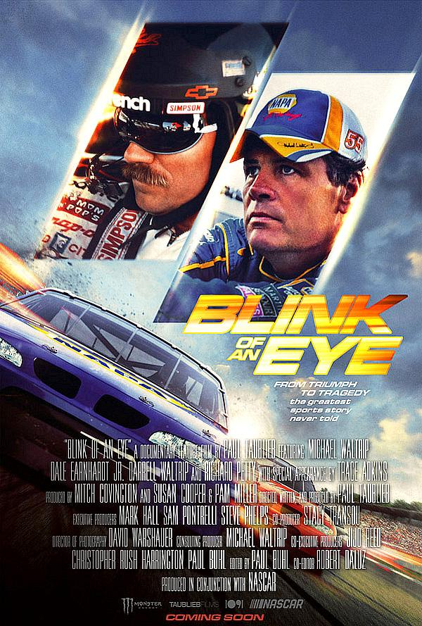 """Critically-Acclaimed NASCAR Documentary 'Blink of an Eye' Starts Streaming Exclusively on the MotorTrend App and MTGO Starting February 3, 2020  """"BLINK"""" GETS REVVED UP WITH EXCLUSIVE RELEASE ON MOTORTREND TV & APP! Drops Monday, Feb. 3 on the MotorTrend TV Streaming App!  Tweet this The critically-acclaimed NASCAR documentary created by multi-Emmy Award-winning studio TAUBLIEB Films will premiere on Monday, February 3, 2020 on the MotorTrend App and MTGO (iOS and Android), the only subscription streaming service dedicated entirely to the motoring world. Blink of an Eye was produced with the support of Monster Energy and NASCAR.  The MotorTrend App and MTGO offers nearly 8,000 episodes and roughly 4,000 hours of world-leading automotive series and specials including the most complete collection of classic Top Gear (200+ episodes and specials spanning seasons one through 25), the upcoming all-new Top Gear America and every season of Wheeler Dealers, Roadkill, Fast N' Loud, Garage Rehab, Overhaulin', Bitchin' Rides and many more. The MotorTrend App and MTGO is available for Prime Video customers in the U.S. on Prime Video Channels and on Amazon FireTV in addition to other media players and streaming devices including Apple TV, Roku, Google Chromecast and on the web, as well as across iPhone, iPad, and Android mobile devices.  Blink of an Eye is based on the New York Times-bestselling autobiography of the same name. The film was directed and produced by two-time Emmy Award-winning documentary filmmaker, Paul Taublieb. Blink of an Eye premiered in September 2019 and completed a successful nation-wide theatrical run in the United States, followed by a series of encore screenings in NASCAR hotbeds across the South.  An instant hit with fans and critics, Blink of an Eye has garnered a 90-percent Audience Score on the Rotten Tomatoes review platform. The media has attested the film an emotional appeal far beyond the world of racing.  Jim Amos at Forbes magazine wrote: """"One o"""