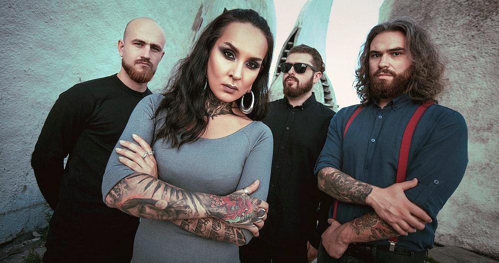 """JINJER Releases Live Video For Hit Single """"On The Top"""""""