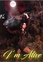"Las Vegas Singer and Guitar Shredder, Leona X, Releases Riveting New Single, ""I'm Alive!"""
